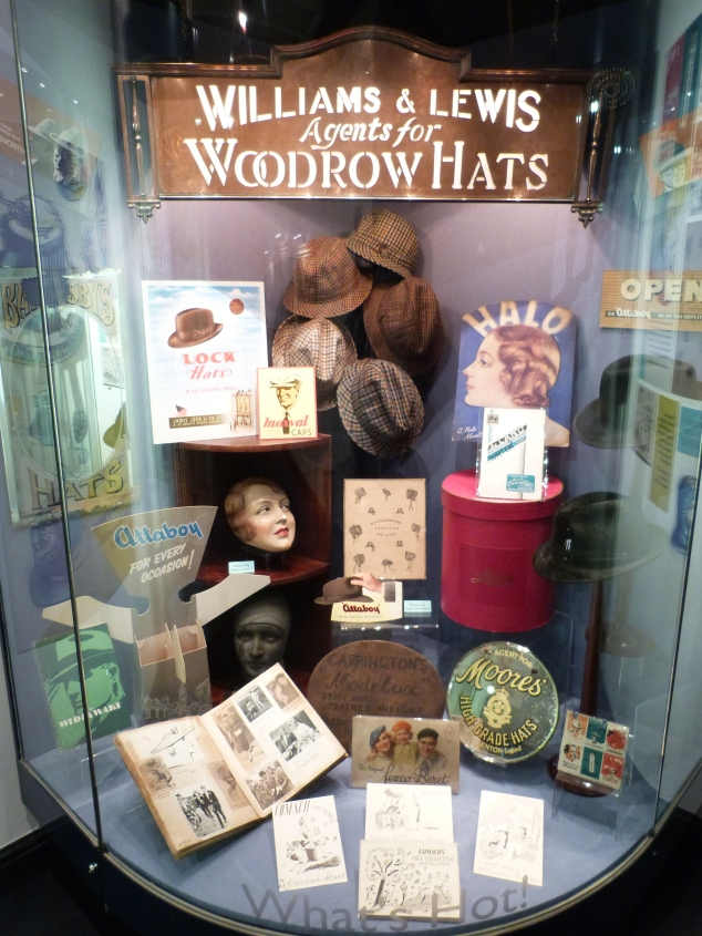 Woodrow Hats Display